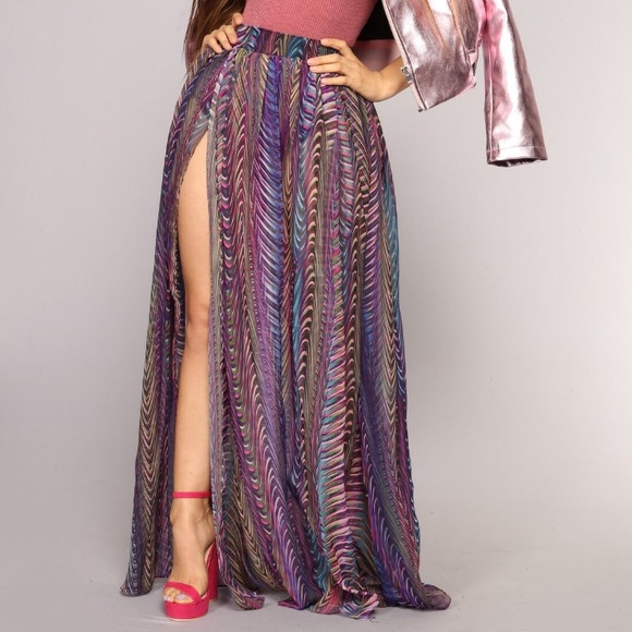 599239be64a Fashion Nova Dresses   Skirts - Fashion Nova Purple Sasha Skirt Size Small